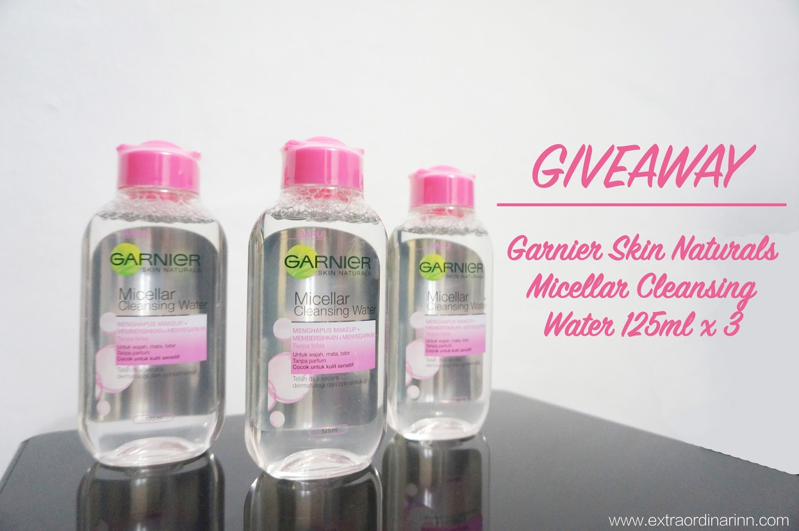 Carinn Carerynn Malaysia Fashion Beauty Lifestyle Blog Garnier Micellar Cleansing Water 125ml I Have Teamed Up With Hermo To Reward 3 Lucky Readers This Gentle Worth Rm1450 The Giveaway Will Be Held On