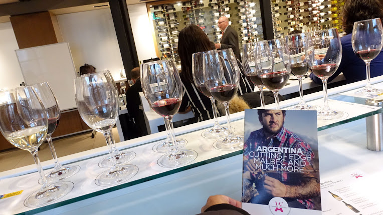 Tastes of Argentina masterclass on wine