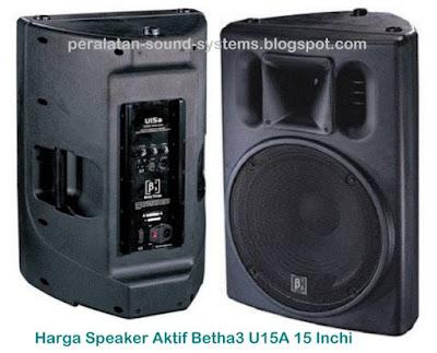 Harga-Speaker-Aktif-Betha3-U15A