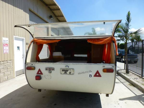 Rare Vintage Small Camper Trailer For Sale RV Camper