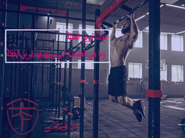 ستتعرف على العضلات المستهدفة  وما هى انواع تمارين العقلة والطريقة الصحيحة للعقلة ومعلومات ستهمك.