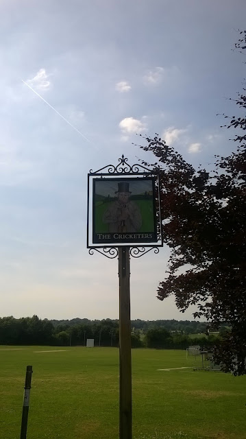 Cricket and psychogeography number 3: Tilford - Billy at rest