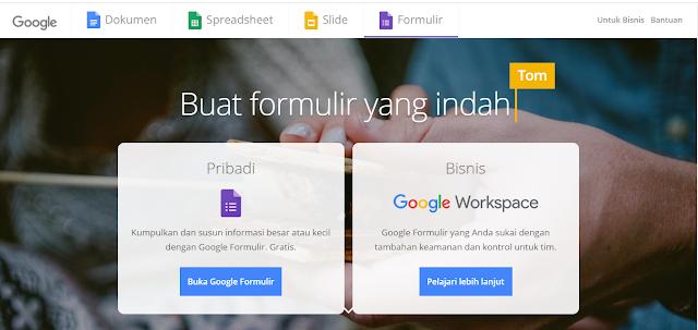 Cara Membuat Formulir Menggunakan Google Form