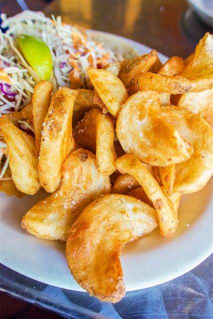 Fries at The Salty Pelican - Amelia Island, FL