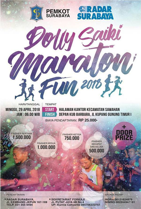 Dolly Saiki Maraton Fun • 2018