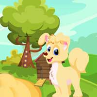 Games4King Cute Puppy Escape