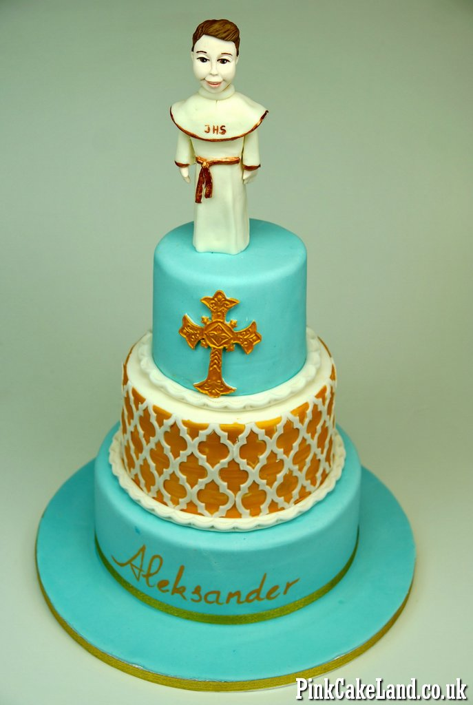 Holly Communion Cakes for Boys in London