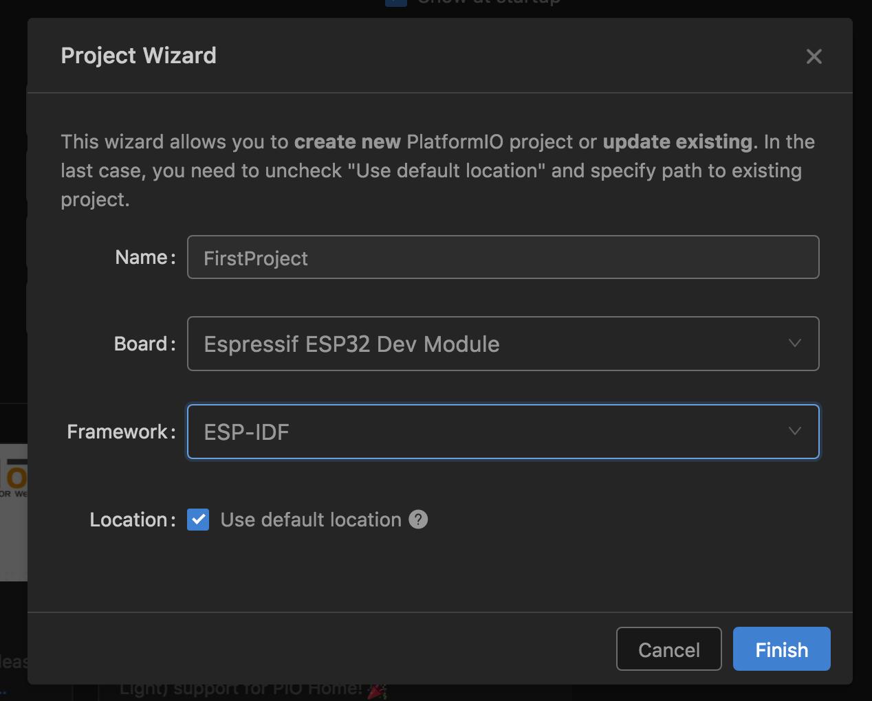 じわじわ進む: ESP32 + VisualStudio Code + PlatformIO