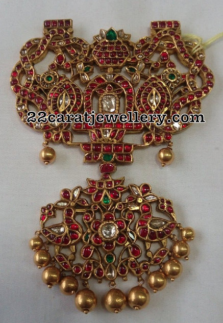 South Indian Traditional Pendant