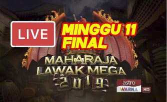 Live Streaming Maharaja Lawak Mega 10.1.2020 (MINGGU 11).