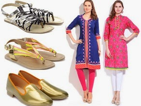 Women's Kurta Below Rs.500 | Flat 60% Off on Roish Women's Flats, Bellies, Laofers @ Flipkart