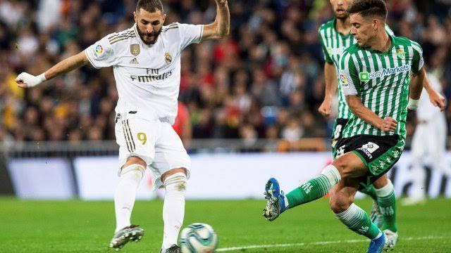 موعد مباراة ريال مدريد وريال بيتس في الدوري الاسباني