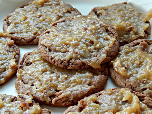 Kandy's Kitchen Kreations: German Chocolate Cookies