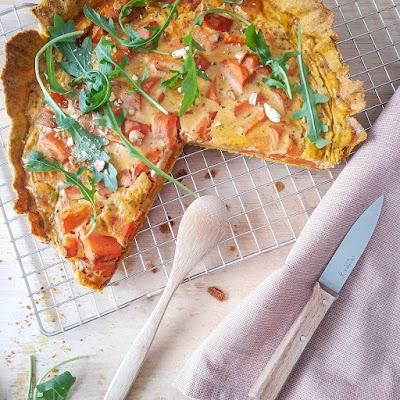 carrot-quiche
