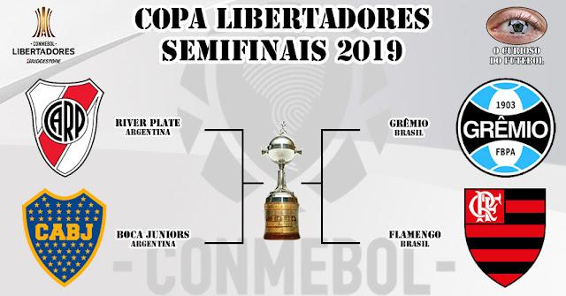 Resultado de imagem para copa libertadores 2019 semi finais