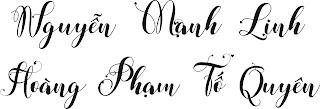 Chia sẻ fonts chữ mới nhất 2021