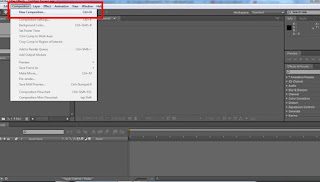 tutorial adobe after effect cs4 membuat composition baru