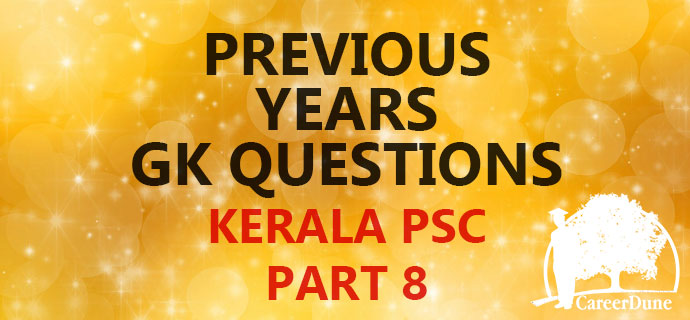 PSC Previous GK part 8