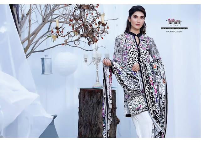 Firdous Fashion Korean Linen New Winter Dresses Designs ...