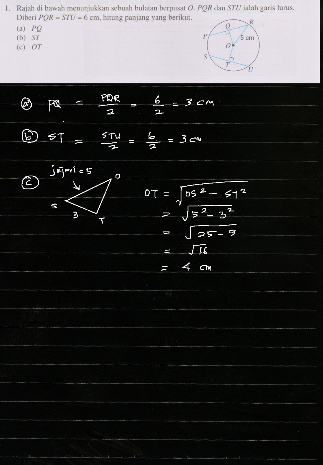 Cikgu Azman Menjana Kecemerlangan Ms 94 Bab 5 Bulatan Tingkatan 2