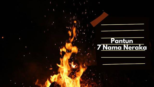 Pantun 7 Nama Neraka