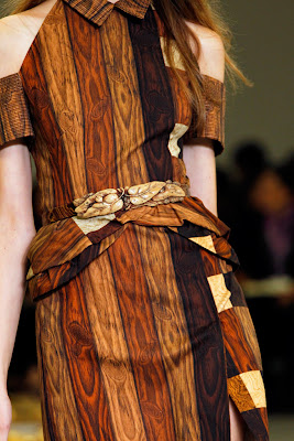Rodarte Spring Summer 2011 - Wood dresses - wood fashion