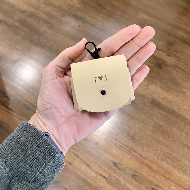 leather AirPods Pro personalized case