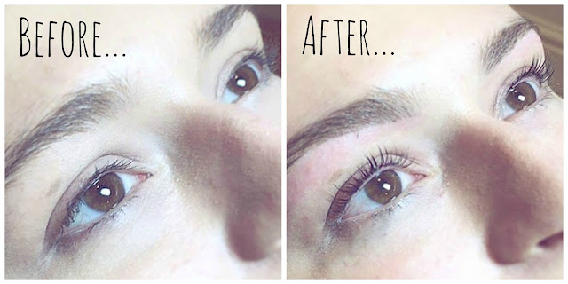 Bloom Permanent Cosmetics Liverpool Nouveau LVL Lash Treatment review by Lovelaughslipstick blog Before and After