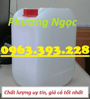 Can nhựa 10L có nắp chống tràn, can nhựa đựng hóa chất 10 Lít, can nhựa dày 10L 5e65095ad48434da6d95