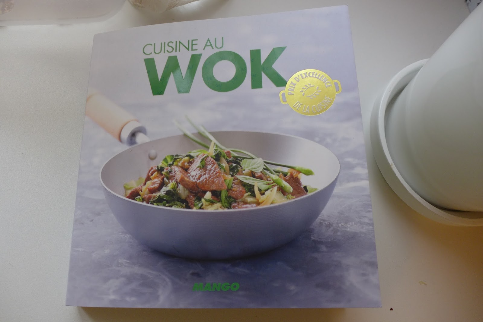 livre cuisine au wok
