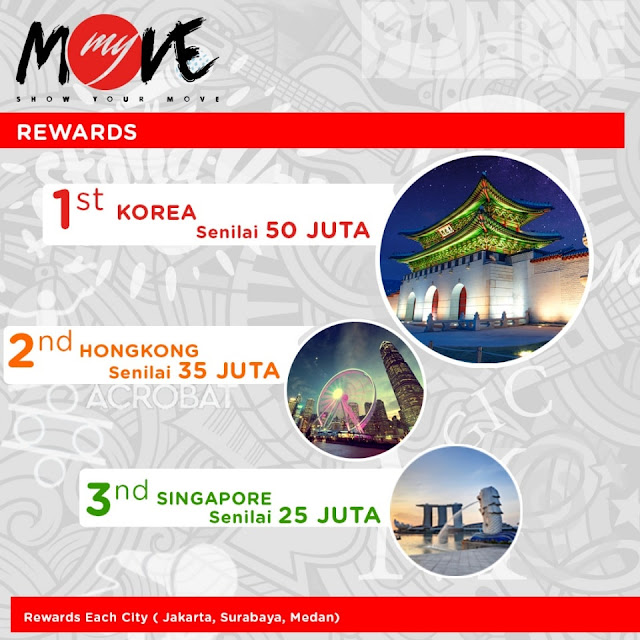Ikuti Kontes Video 'My Move Show Your Move' Indihome Hadiah Jalan-Jalan Ke Luar Negeri