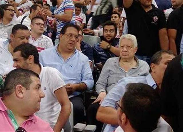عاجل | اعتبار الزمالك مهزوم 2-0 امام الانتاج الحربى بسبب حضور مرتضى منصور المباراة
