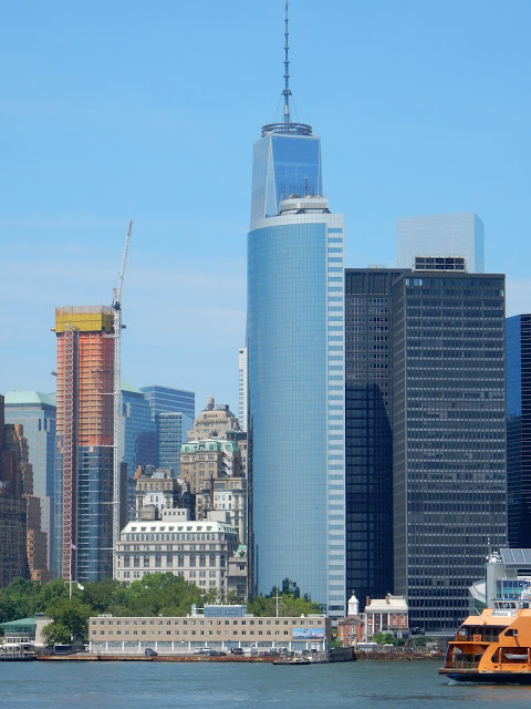 World Trade Center, Freedom Tower, New York, Manhattan, été, elisaorigami