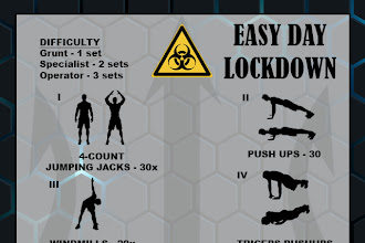 EASY DAY LOCKDOWN WORKOUT