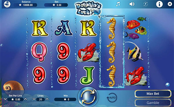 Main Gratis Slot Indonesia - Dolphin's Luck Booming Games