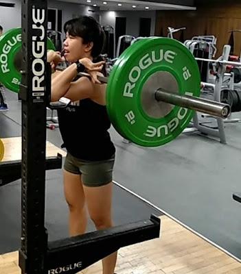 female front squat