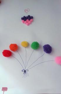 Λουλούδια και μπαλόνια