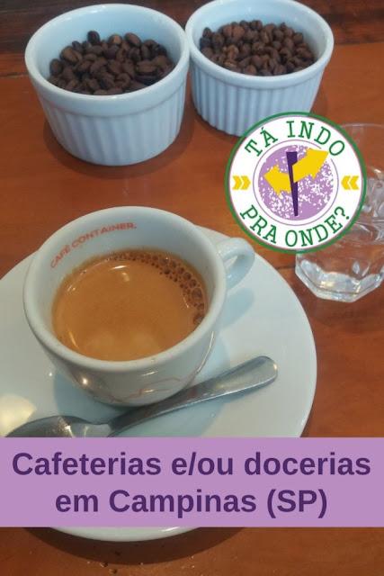 10 cafeterias e/ou docerias em Campinas