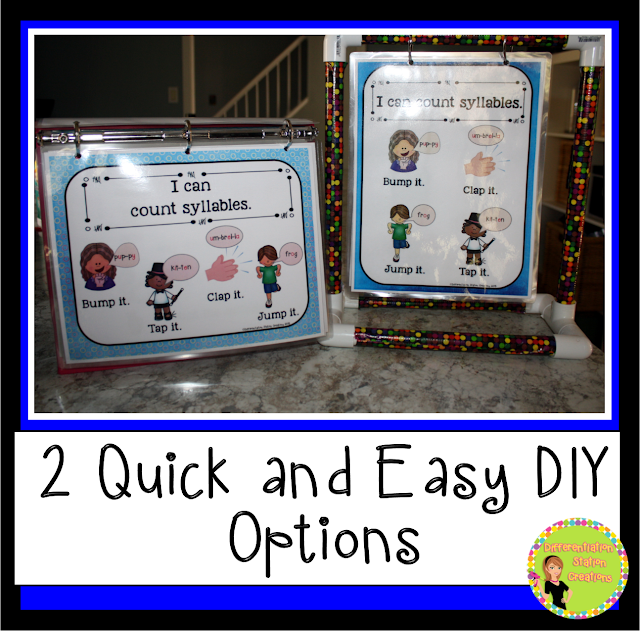 DIY Mini Anchor Chart Stand