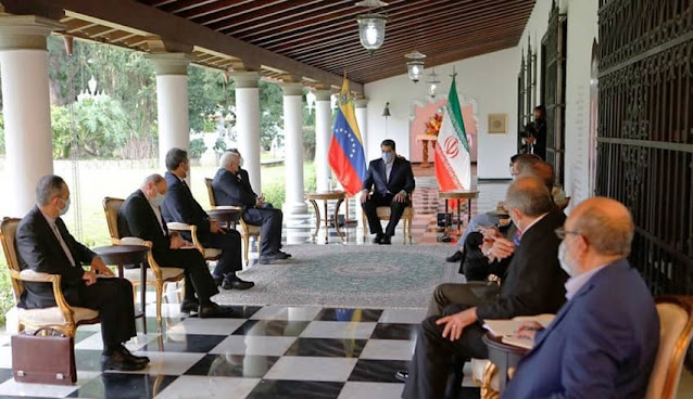 Venezuela e Irán ratifican alianza ante sanciones de EEUU