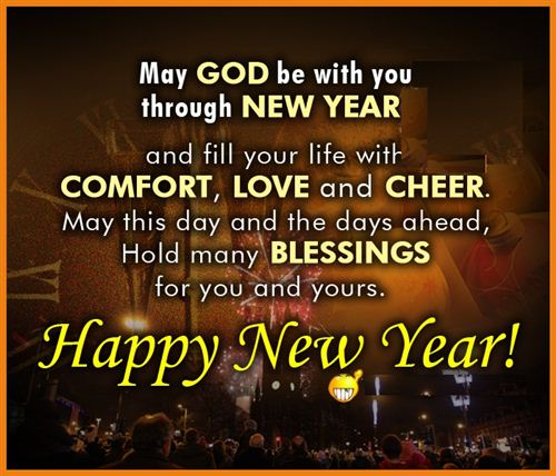 New Year Blessings Wishes Messages