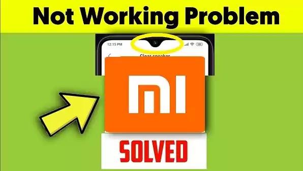 Call Speaker Not Working Problem Solved Xiaomi Redmi K20 Pro