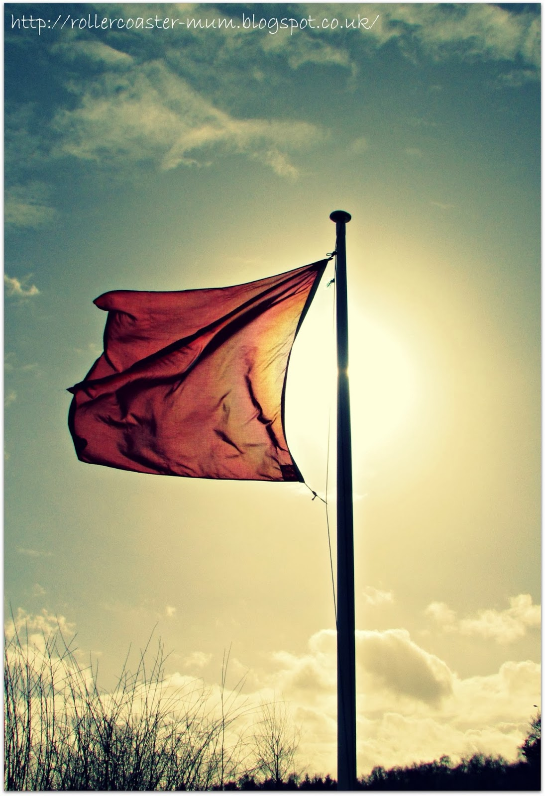 don't go there..., red flag flying, army land