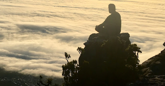 Table Mountain: Looking down across a Sea of Clouds