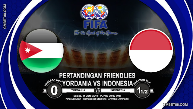 Prediksi Bola Yordania VS Indonesia