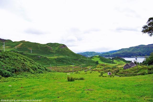 Upper Gylen, isla de Kerrera (Escocia)