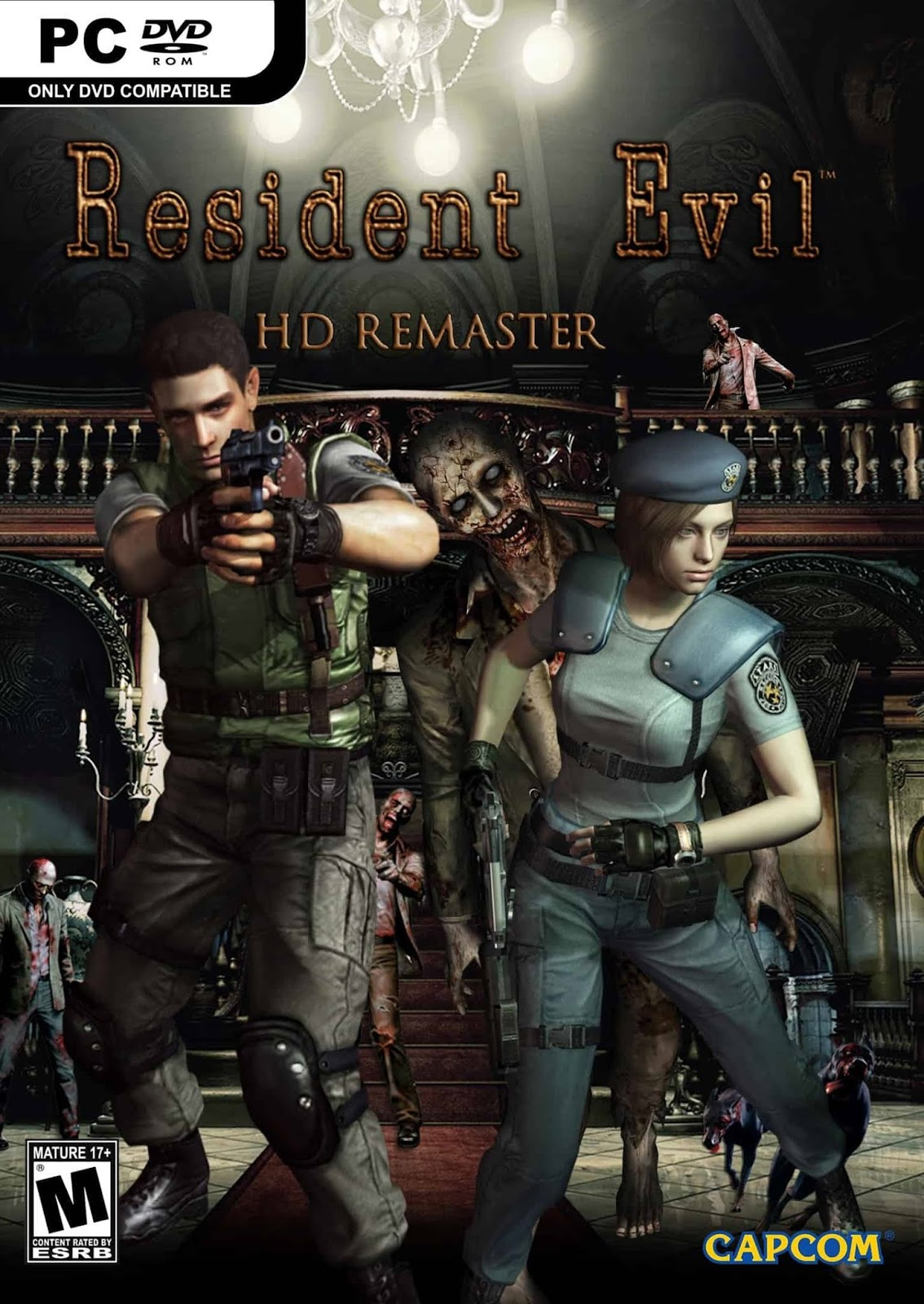 Descargar Resident Evil HD Remaster PC Cover Caratula