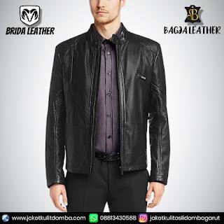 model2 jaket kulit
