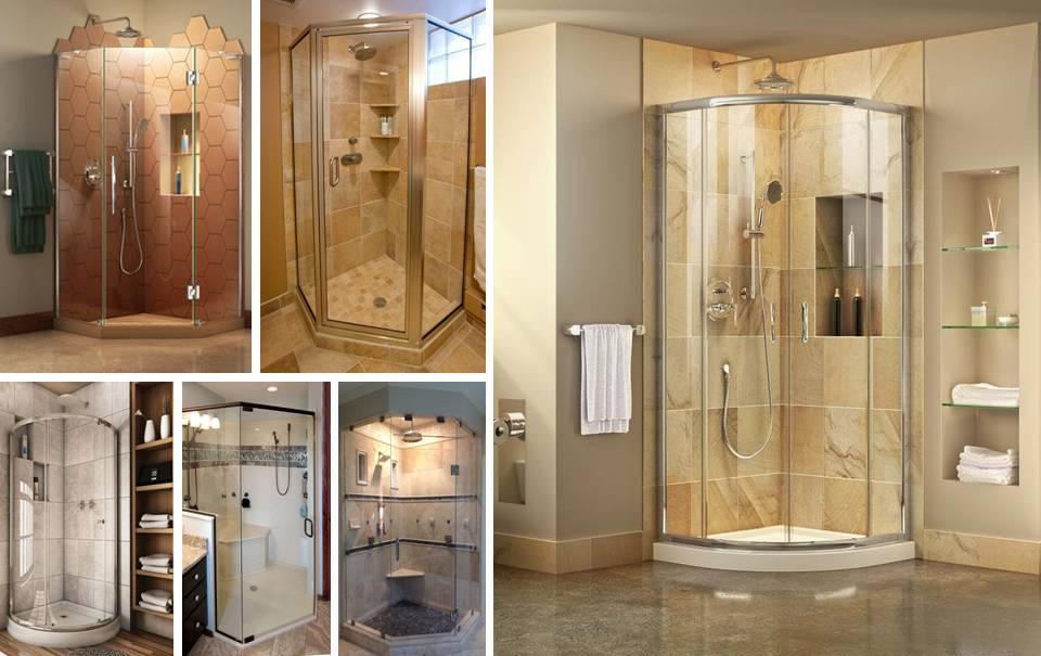 30 Breathtaking Corner Glass Shower Prefabricated Stalls - Decor Units