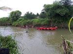 Berwudhuk di Sungai Warga Pasbar Diseret Buaya di Batang Sikabau
